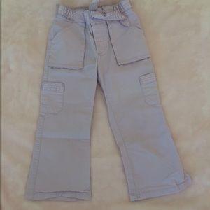 Baby Gap 3 years girl pants - light lavender